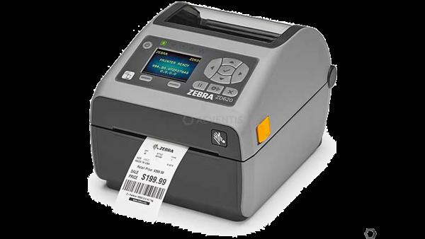ZEBRA ZD620d, 8 Punkte/mm (203dpi), Cutter, RTC, Display, EPLII, ZPLII, USB, RS232, BT, Ethernet, WL