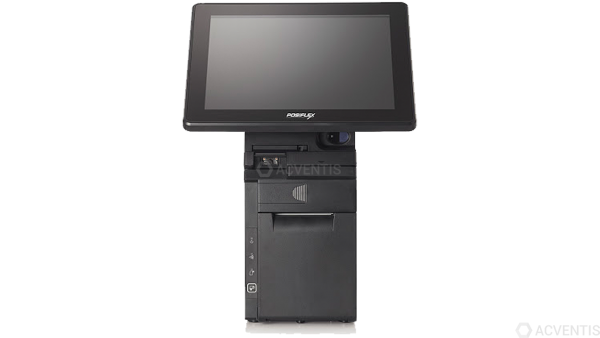 POSIFLEX Jiva HS3512W-B All-in-One Touch Kasse, 12'', Bon-Drucker | HS351203008M04Q2