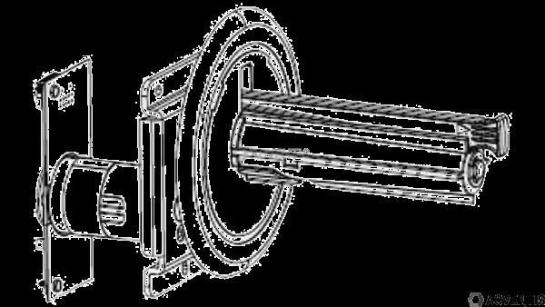 ZEBRA Liner Take-up Spindle Kit für ZT410 / ZT411 | P1058930-052