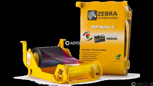 ZEBRA Farbband, für ZXP 3, YMCKOK | 800033-348