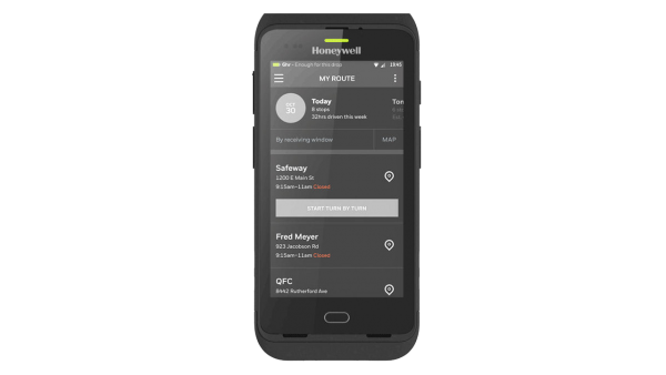 HONEYWELL Dolphin CT40, 2D, SR, BT, WLAN, NFC, PTT, GMS, Android | CT40-L0N-1NC110E