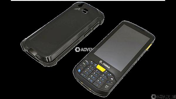AEONTIS Schutzhülle für Zebra TC20K, schwarz | AEO-TPU-AXS290008