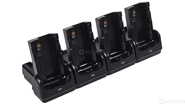 M3 MOBILE Ladestation für SM15, 4-Fach, Ethernet | SM15-8CRD-E00