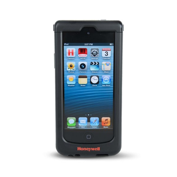 Honeywell Captuvo SL22 für Apple iPod touch 5, 2D, SR, Kit (USB), schwarz