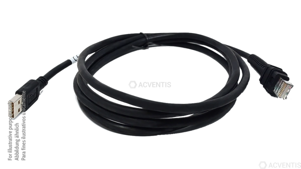 ZEBRA Verbindungskabel, powered USB, 4.6m | CBA-U45-S15ZAR