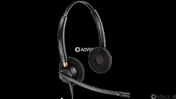 POLY Plantronics EncorePro HW520, binaural, On-Ear, QD |89434-02