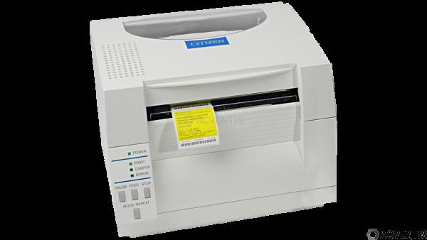 CITIZEN CL-S521, 8 Punkte/mm (203dpi), Cutter, ZPL, Datamax, Multi-IF (Ethernet), weiß | 1000816EC