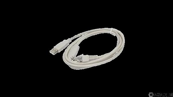 GLANCETRON Verbindungskabel, USB, weiß | GC-8034004-00