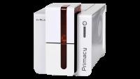 Evolis Primacy, einseitig, 12 Punkte/mm (300dpi), USB, Ethernet, rot