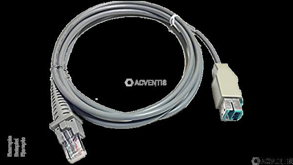 DATALOGIC USB Kabel, gerade, 1.8m, IBM | 90A052045