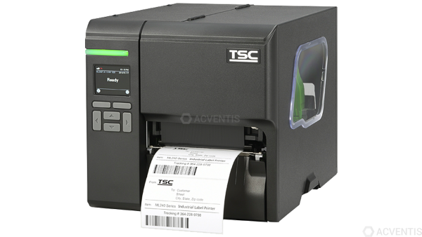 TSC ML240P, 8 Punkte/mm (203dpi), Disp. (Farbe), RTC, USB, RS232, Ethernet | 99-080A005-0302
