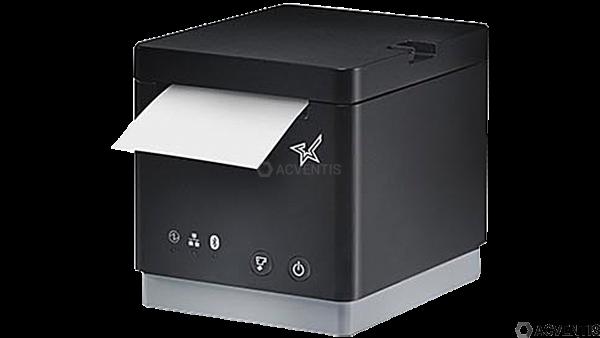 STAR MICRONICS mC-Print2, USB, Ethernet, 8 Punkte/mm (203dpi), Cutter, schwarz | 39652190