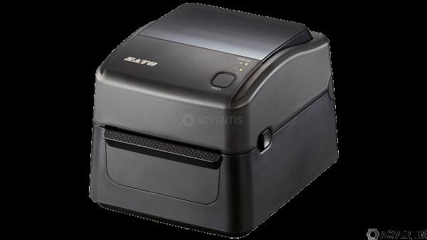 SATO WS412DT-STD, 4'', 300dpi, Cutter, USB, LAN, RS-232 | WD312-400CN-EU