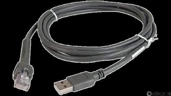 ZEBRA Verbindungskabel, USB, 4.6m   CBA-U44-S15PAR