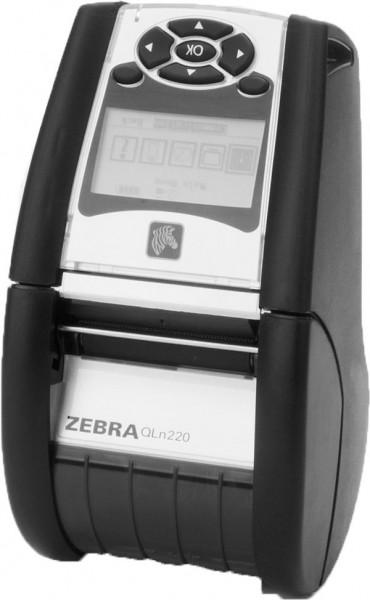 ZEBRA QLn220, 2'', USB, RS232, BT, NFC, 203dpi, RTC, Display, EPL, ZPL, CPCL   QN2-AUCAEM10-00