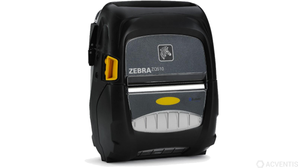ZEBRA ZQ510, 3'', 8 Punkte/mm (203dpi), Display, ZPL, CPCL, USB, BT, WLAN, NFC   ZQ51-AUN010E-00