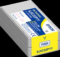 EPSON C3500 Patrone, gelb | C33S020604