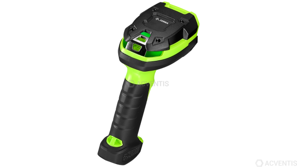 ZEBRA Handscanner DS3608-HD, 2D, HD, Multi-IF, Kit (USB), schwarz, grün | DS3608-HD3U4602VZW