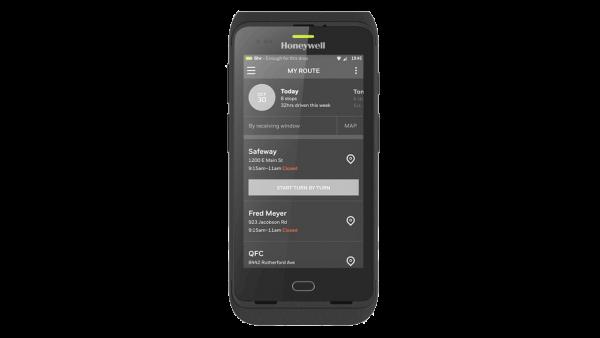 Honeywell Dolphin CT40, 2D, SR, BT, WLAN, 4G, NFC, PTT, GMS, Android   CT40-L1N-1NC110E