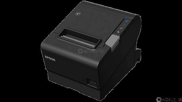 EPSON TM-T88VI-iHub, Fiscal DE, TSE: 5 Jahre, USB, RS232, Ethernet, ePOS, schwarz | C31CE94751F4