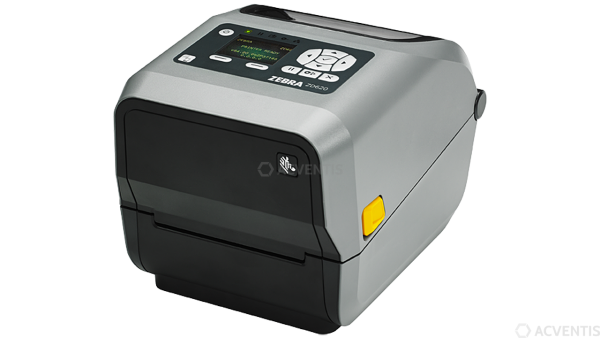 ZEBRA ZD620t, 12 Punkte/mm (300dpi), Cutter, VS, RTC, Display, EPLII, ZPLII, USB, RS232, Ethernet |