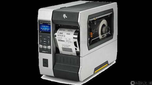 ZEBRA ZT610, 300dpi, Peeler, Rewind, Disp., ZPL, ZPLII, USB, RS232, BT, Ethernet | ZT61043-T2E0100Z