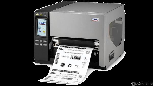 TSC TTP-286MT, 8 Punkte/mm (203dpi), RTC, Display, TSPL-EZ, USB, RS232, LPT, Ethernet