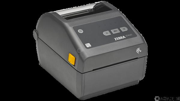 ZEBRA ZD420d, 12 Punkte/mm (300dpi), RTC, EPLII, ZPLII, USB, BT, WLAN   ZD42043-D0EW02EZ