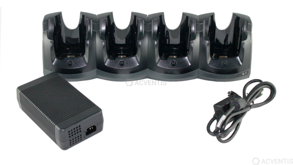 ZEBRA Ladestation für MC55 / MC55X / MC67, 4-Fach, Kit | CRD5501-401CES