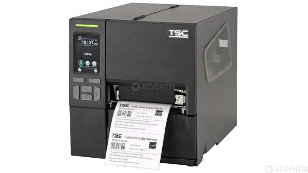 TSC MB240T, 203dpi, Disp., RTC, EPL, ZPL, ZPLII, DPL, USB, RS232, Ethernet   99-068A001-0202