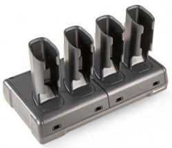 Honeywell FlexDock 4-Fach Batterieladegerät für Pistolengriff-Akkus für CK7X, CK3