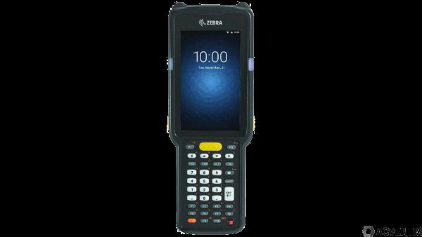 ZEBRA MC3300 Standard, 2D, SR, USB, BT, WLAN, Func. Num., Gun, PTT, Android | MC330M-GI30A2RW