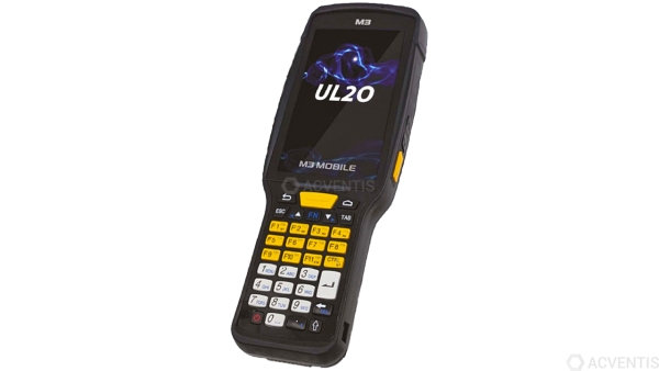 M3 MOBILE UL20W, 2D, LR, BT, WLAN, Alpha, GPS, Android | U20W0C-1LCFSS