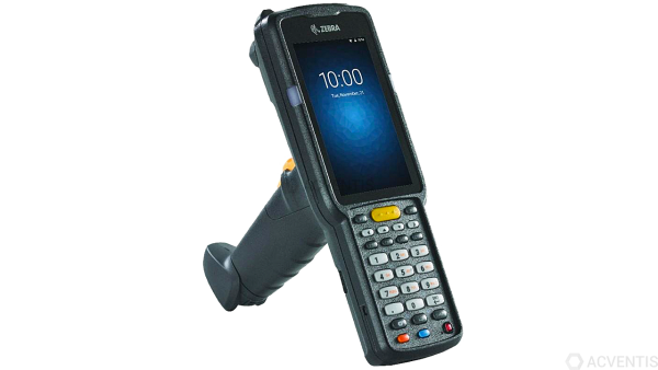 ZEBRA MC3300 Premium, 2D, SR, BT, WLAN, NFC, Num., Gun, IST, PTT, Android | MC330K-GI2HA3RW