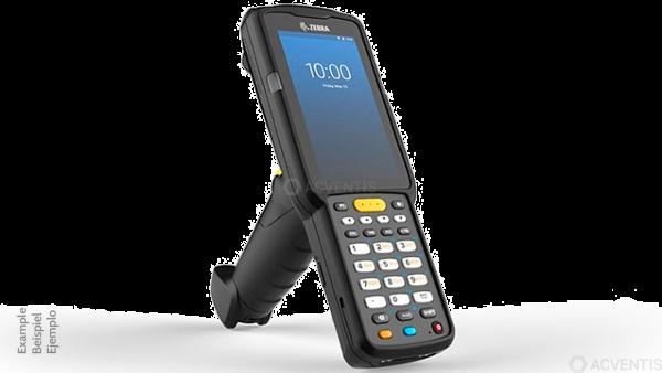 ZEBRA MC3300x, 2D, LR, SE4850, BT, WLAN, NFC, Alpha, Gun, Android | MC330L-GE4EG4RW