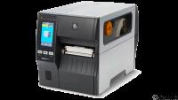 ZEBRA ZT411, 12 Punkte/mm (300dpi), Peeler, Rewinder, Disp. (Farbe), RTC, EPL, ZPL, ZPLII, USB, RS-2