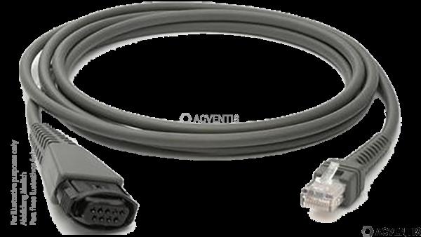 DATALOGIC Wand-Kabel, gedreht (9-polig männlich) | 90A051210