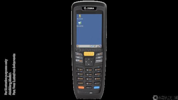 ZEBRA MC2180, 2D, USB, BT, WLAN, Num. | MC2180-AS01E0A
