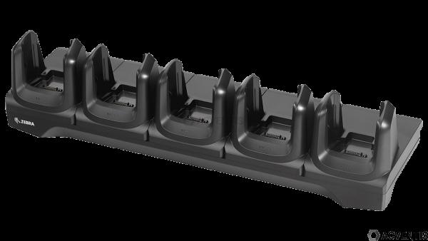 ZEBRA Lade-/Übertragungsstation für MC33, 5-Fach, Ethernet | CRD-MC33-5SETH-01