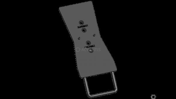 MAX MICHEL Halteplatte für Verifone P400   30-60114-00