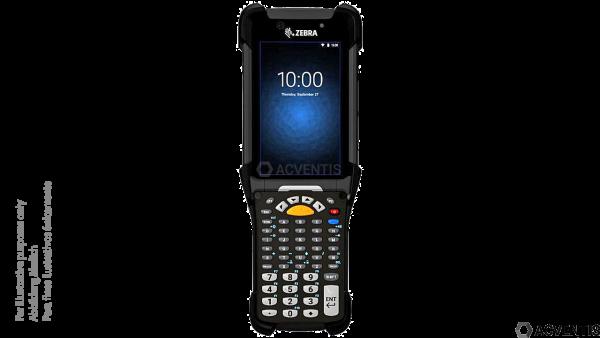 ZEBRA MC9300, 2D, SR, SE4750, BT, WLAN, NFC, Func. Num., Gun, IST, Android | MC930P-GSHBG4RW