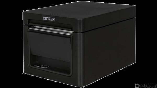 Citizen CT-E651, 8 Punkte/mm (203dpi), Cutter, USB, BT, schwarz