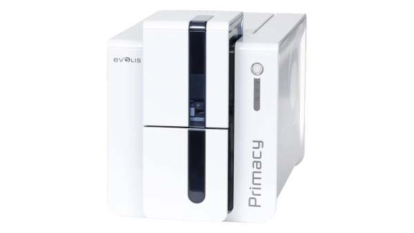 Evolis Primacy, beidseitig, 12 Punkte/mm (300dpi), USB, Ethernet, blau