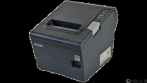 EPSON TM-T88V, USB, BT (iOS), EU, dunkelgrau | C31CA85953