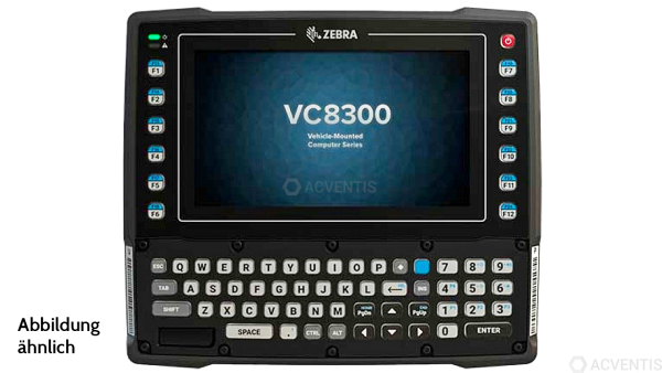 ZEBRA VC8300, USB, RS232, BT, WLAN, AZERTY, Android | VC83-08SOCABAABA-I