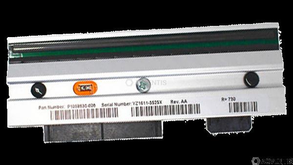 ZEBRA Druckkopf für ZT410, 8 Punkte/mm (203dpi) | P1058930-009