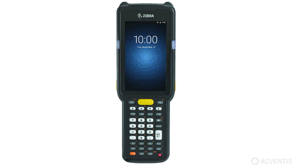 ZEBRA MC3300 Premium+, 1D, USB, BT, WLAN, NFC, Func. Num., Gun, PTT, Android | MC330K-GL3HA4RW