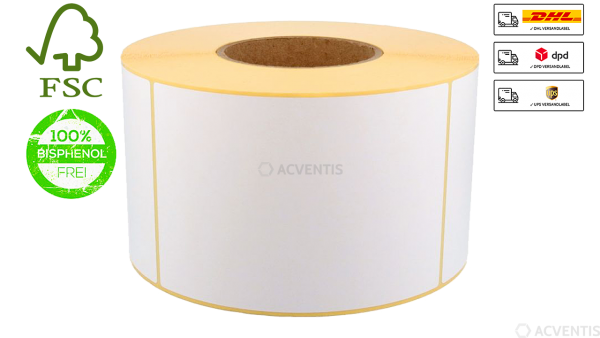 AEONTIS Xperform80 Etikettenrolle, Thermopapier, Select, 100x150mm | AEO-SEL100X150-127