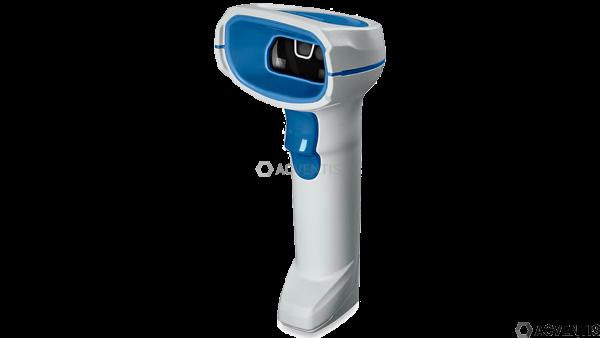 ZEBRA DS8108-HC, 2D, SR, Multi-IF, Kit (USB), weiß, blau | DS8108-HCBU2104ZVW