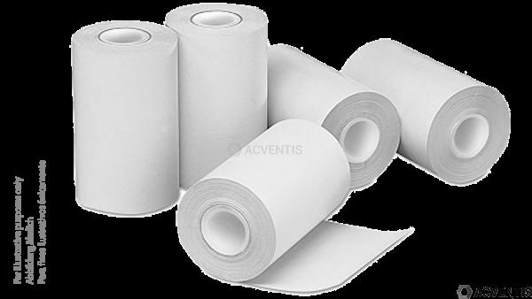 CAPTURE Bonrolle, Thermopapier, 57mm x 35mm x 12mm - 14m, weiß | 20000218